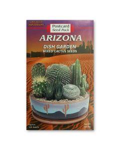 Seed Postcard Mixed Cactus