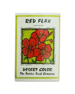 Red Flax Wildflower Seeds