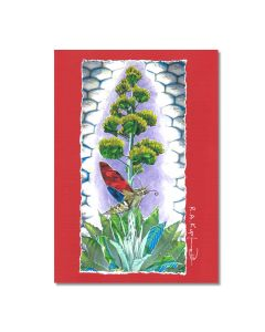 Rick Kupferer Agave Greeting Card