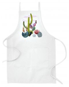 Watercolor Cactus Apron