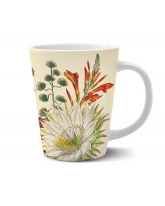 Vintage Botanical Latte Mug