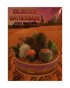 Dish Garden- Mixed Cactus Seeds