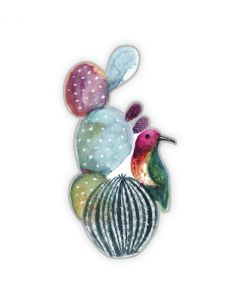 Watercolor Cactus Magnet