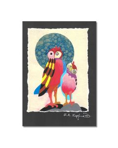 Rick Kupferer Owl Greeting Card