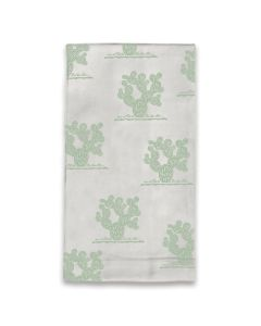 Letterpress Prickly Pear Tea Towel
