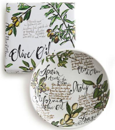 Desert Botanical Garden Olive Oil Serving Bowl