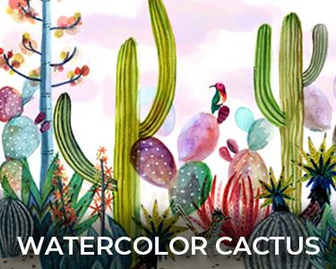 Shop Watercolor Cactus